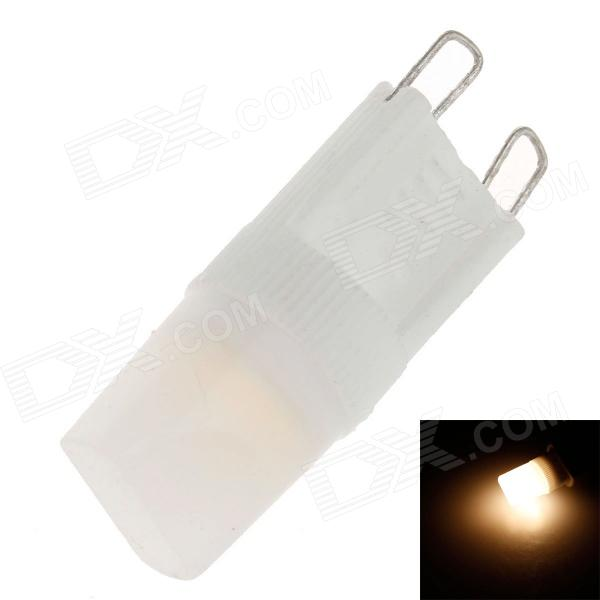 ZY-02 G9 1.5W 100-110lm 3000K Warm White Light  COB LED Bulb - White  (230V)