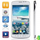 "i9295 MTK6572 Dual-Core Android 4.2.2 WCDMA Bar Phone w/ 4.7"", Wi-Fi, 4GB ROM, GPS - White"