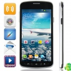 "i9295 MTK6572 Dual-core Android 4.2.2 WCDMA Bar Phone w/ 4.7"", Wi-Fi, 4GB ROM, GPS - Black"