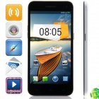 "M Pai 809T MTK6582 Quad-core Android 4.3 WCDMA Bar Phone w/ 5.0"" HD, 4GB ROM, GPS - Black + White"