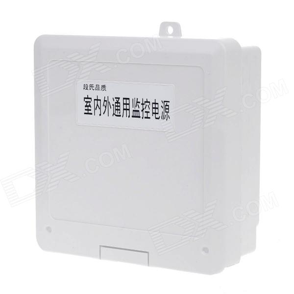 XD-180-A Security Monitoring Power Adapter Waterproof Box - White