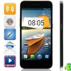 "M Pai 809T MTK6582 Quad-core Android 4.3 WCDMA Bar Phone w/ 5.0"" HD, 4GB ROM, GPS - Black"