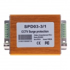 SPD03-3/1 3 In 1 CCTV Surge Protector - Gold