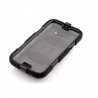 PANNOVO Silicone Shockproof Fallproof Dustproof Case Cover for Samsung Galaxy Note 2 N7100 - Black