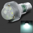 HG E27 5W 300lm 6500K 6-LED White Light Lamp - White (AC 100~240V)
