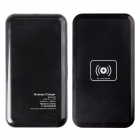 Q9A 5V 1A Wireless Micro USB Charger for Samsung Galaxy S4 / Nokia Lumia 920 / 820 + More - Black