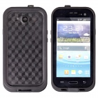 Ultra-Thin Waterproof Dirtproof Shockproof Snowproof Protective Case for Samsung Galaxy S3 - Black