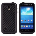 Ultra-Thin Waterproof Dirtproof Shockproof Snowproof Protective Case for Samsung Galaxy S4 - Black