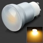 SENCART GU10 5W 320lm 3200K 1-LED COB Warm White Light Bulb - White (AC 85~265V)