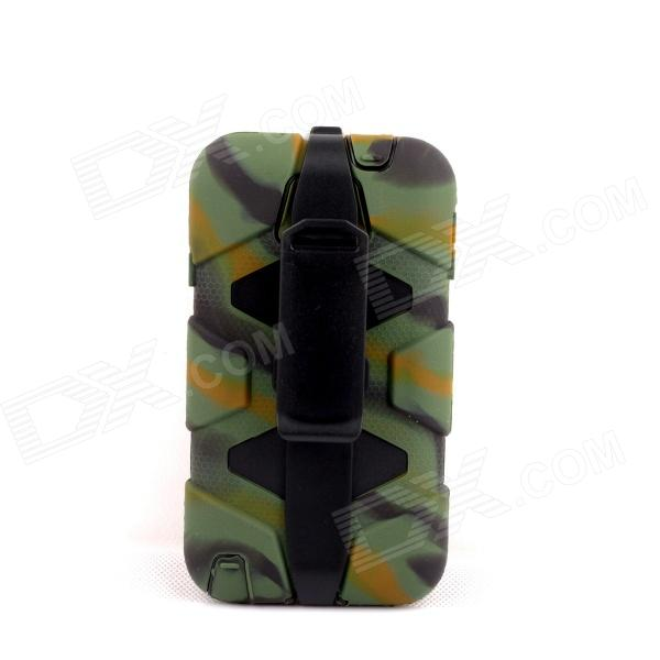 PANNOVO Silicone Shockproof Fallproof Dustproof Case for Samsung Galaxy Note 3 - Camouflage Green pannovo silicone shockproof fallproof dustproof case for samsung galaxy note 3 camouflage green