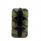 PANNOVO Silicone Shockproof Fallproof Dustproof Case for Samsung Galaxy Note 3 - Camouflage Green
