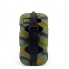 PANNOVO Silicone Shockproof Fallproof Dustproof Case for Samsung Galaxy S3 i9300 - Camouflage Green