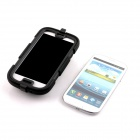 PANNOVO Silicone Shockproof Fallproof Dustproof Case for Samsung Galaxy S3 i9300 - Black
