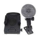 ZYZ-189 Universal 360 Degree Rotational Car Mount Holder for GPS / Cell Phone - Black