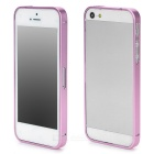 S-What Ultrathin Protective Aluminum Alloy Bumper Frame for Iphone 5 / 5s - Light Purple
