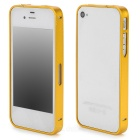 S-What Ultrathin Protective Aluminum Alloy Bumper Frame for Iphone 4 / 4s - Golden