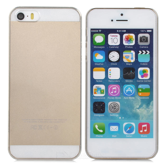 Caso REMAX ZQC5 5S protectora PC nuevo para Iphone 5 / 5s - Transparente