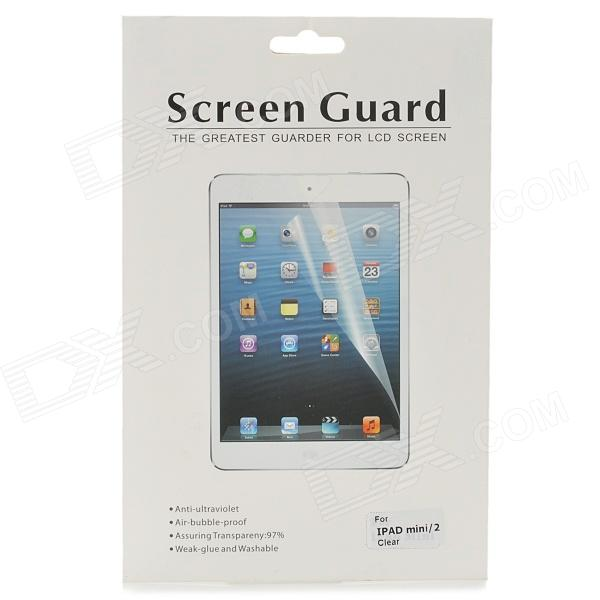 Protective Clear Screen Protector Film for Retina Ipad MINI - Transparent