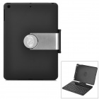 YD K561 360 Degree Rotary Wireless Bluetooth V3.0 78-Key Keyboard for Ipad AIR - Black + Silver