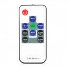 10-key RGB Dimming Wireless Full Color Controller - White + Black