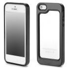 LSSJ-03 Protective Plastic + Silicone Bumper Case for Iphone 5S - Black