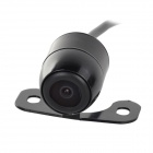 LsqSTAR ST-503 Universal Waterproof 300KP CCD Vehicle Car Rearview Camera - Black
