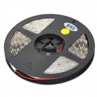 Decorative 60W 1500lm Yellow 300-5050 SMD LED Light Strip - White + Black (5M)