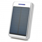 "S-What Universal 5V ""13800mAh"" Li-ion Polymer Battery Solar Power Charger - Silver + White"