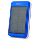"S-What Universal 5V ""13800mAh"" Li-ion Polymer Battery Solar Power Charger - Blue + White"