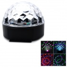 QT201-11 Six-Color Light Spider Web Pattern Magic LED Ball Light
