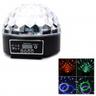 QiaTeng Q204-6 6-Color Olympic Rings Magic LED Ball Light w/ Remote Controller
