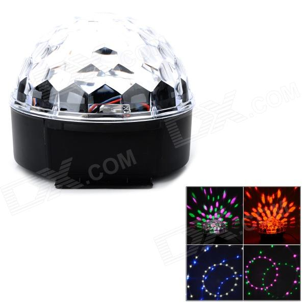 QT201-2 6-Color Spider Net Magic LED Ball Light w/ Remote Controller