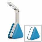 TOKUYI  Folding Rechargeable 2W 220lm 6500K 27-LED 2-Mode White Light Table Lamp - Blue + White