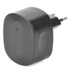 AC Charging Adapter Charger w/ Dual USB for Iphone / Ipad / Ipod / Samsung / HTC - Black (EU Plug)