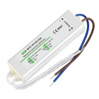 WTF-D12010A 10W Waterproof Electronic LED Power Supply - White + Silver (AC 90~250V)