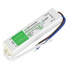 WTF-D12015A 15W Waterproof Electronic LED Power Supply - Silver White (AC 90~250V)