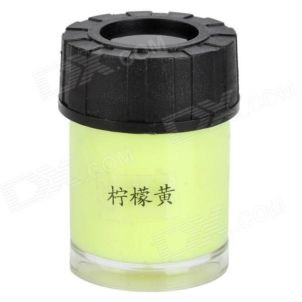 Graffiti Party DIY Glow in the Dark Luminous Pigment - Lemon Yellow