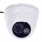 "Heike HK-SXBQD 200W 1/4"" CMOS Digital HD Video Dome Camera w / 1-IR LED - White+Black"