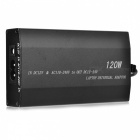 120W Universal AC / DC Home Car Adapter para Laptop (AC 100 ~ 240V, 9-15V)