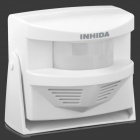 INHIDA Y800 Intelligent Welcoming Doorbell - White (3 x AA)