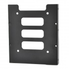 "DVR / SSD Iron Rack Bracket for 2.5"" to 3.5"" Hard Disk - Black"