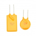 0.1A~10A DIP Self-recovery Fuse Kit - Yellow + Silver (80 PCS)
