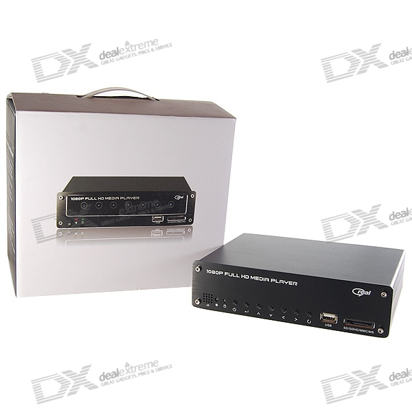1080P RM/RMVB/AVI/MPEG4 Media Player for 3.5