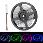 72W 5400lm 300 x SMD 5050 LED RGB Light Strip w/ Mini RGB Amplifier - (12V / 5 Meters)