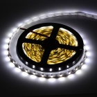 36W 1500lm 6500K 300 x SMD 3528 LED White Light Strip w/ Mini Controller - (12V / 5 Meters)