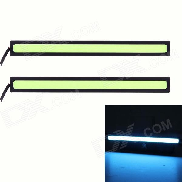 6W 420lm COB LED Ice Blue Light Car Daytime Running Lamp - (12V / 17 centímetros / 2 PCS)