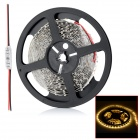HML 36W 1500lm 3300K 300 x SMD 3528 LED Warm White Light Strip w/ Mini Controller - (12V / 5 Meters)