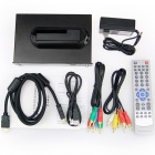 "1080P RM/RMVB/AVI/MPEG4 Media Player for 2.5""""/3.5"""" SATA HDD with USB Host and SDHC"