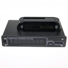 "1080P RM/RMVB/AVI/MPEG4 Media Player für 2,5 ""/ 3,5"" SATA HDD mit USB-Host-und SDHC"