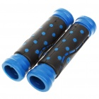Comfortable Rubber Bicycle Handle Bar Grips - Random Color (Pair)